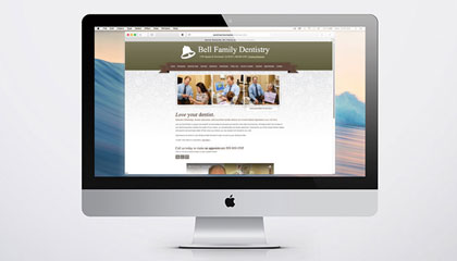 dental marketing website