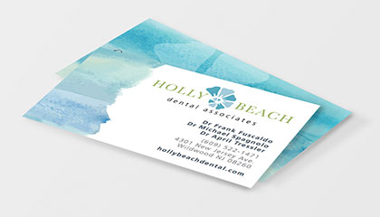 Dentist Business Cards