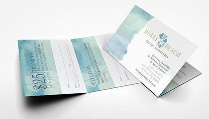 Dentist Referral Cards