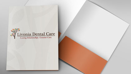Dentist Presentation Folder