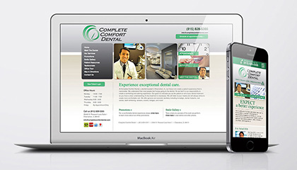 Dentist Website and Mobile Site