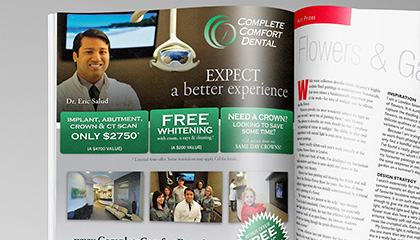 Dentist Magazine Ad