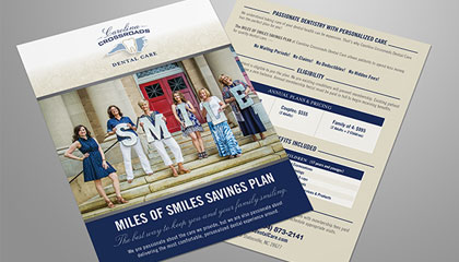 Dentist Smiles Savings Program Flyer