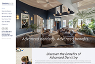 Dentistry For Life website home page