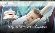 Dr. Dan's Pediatric Dentistry website home page