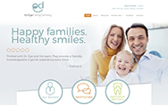 Ed Dye DDS website home page