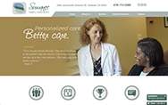 Suwanee Family Dentistry website home page
